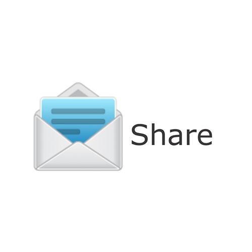Share Design via Email